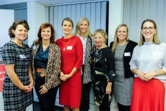 L-to-R: Valerie Derambure (Ostrum Asset Management); Veronique Nejman (ING France); Vivienne Artz (Refinitiv); Mara Catherine Harvey (UBS); Fiona Wilkinson (ICAEW); Milda Darguzaite (Northern Horizon Capital); Susanna Di Feliciantonio (ICAEW).