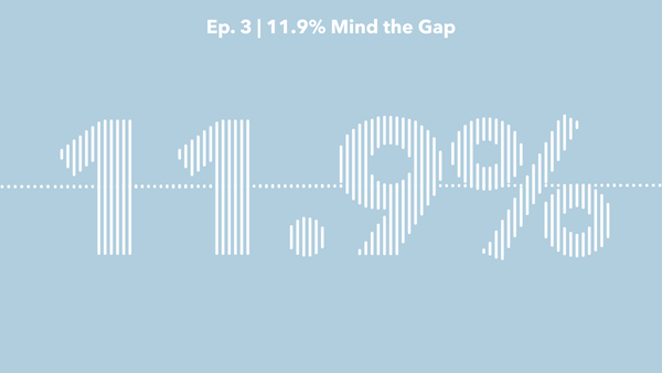 11.9% – mind the gap
