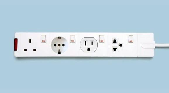 International plug sockets