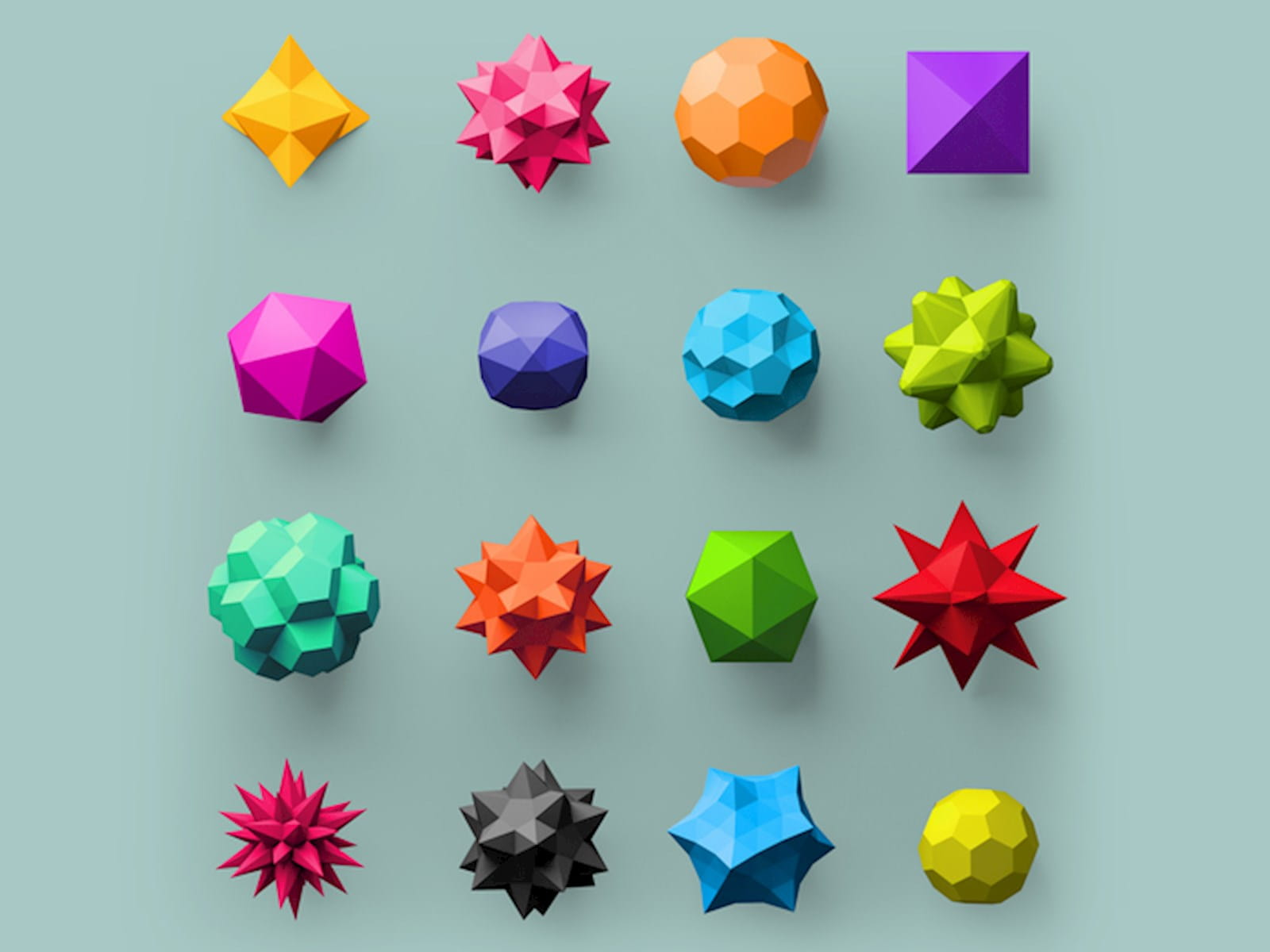 Multiple shapes