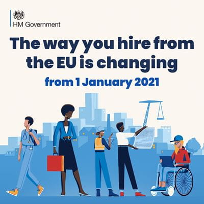 The way you hire from the EU is changing from 1 January 2021