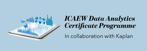 Data Analytics certificate