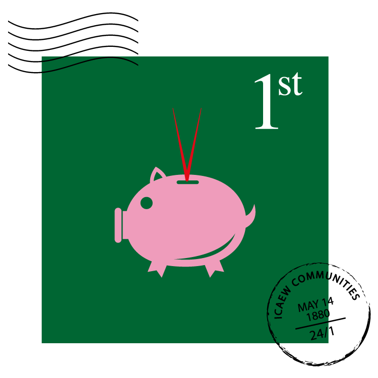 Charity Finance Professionals Community stamp