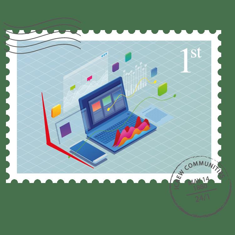 Data Analytics Community stamp