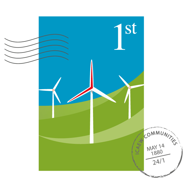 Energy & Natural Resources Community stamp