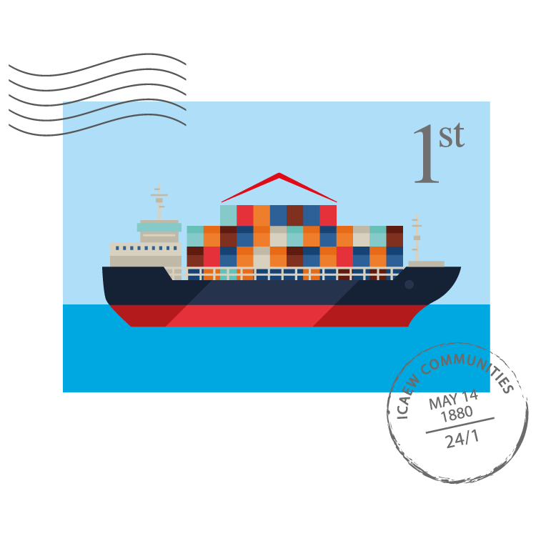 Exporting Community stamp