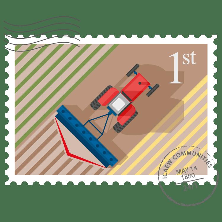 Farming & Rural Business Community stamp