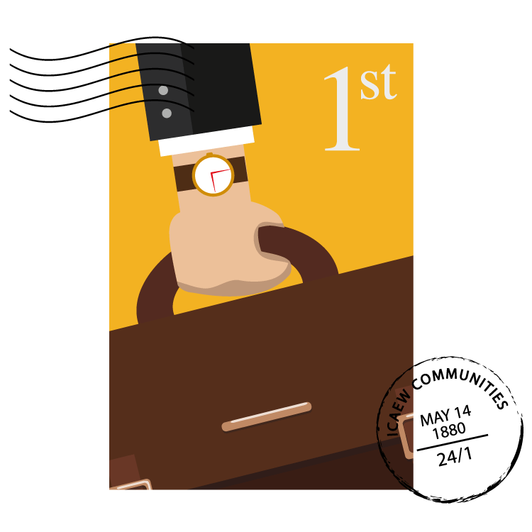 Independent Advisers & Consultants Community stamp