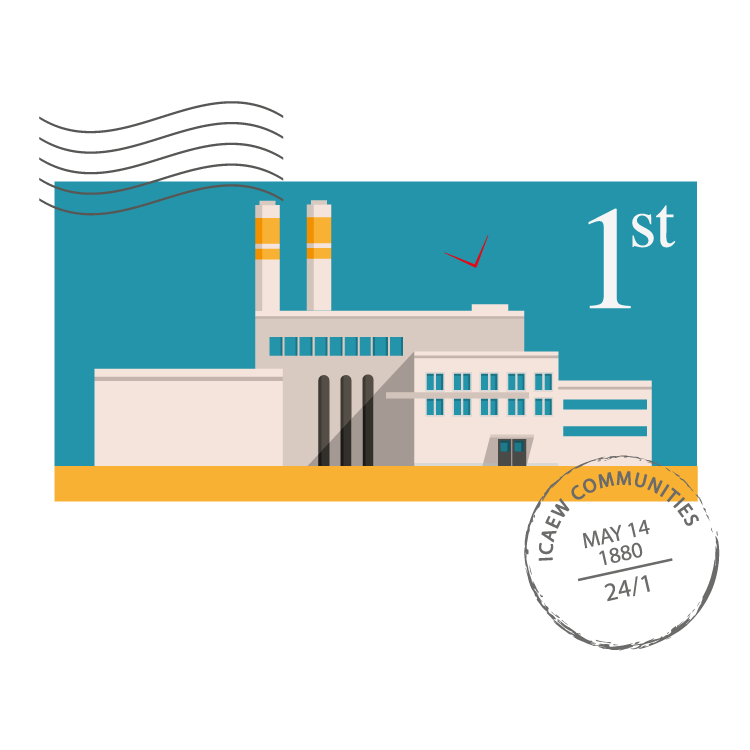 Manufacturing Community stamp