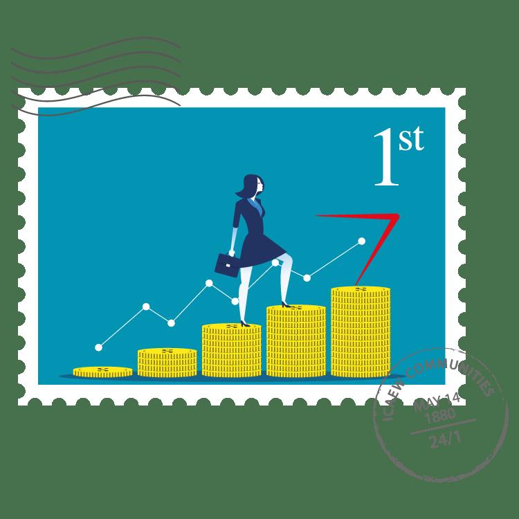 Women in Finance Community stamp