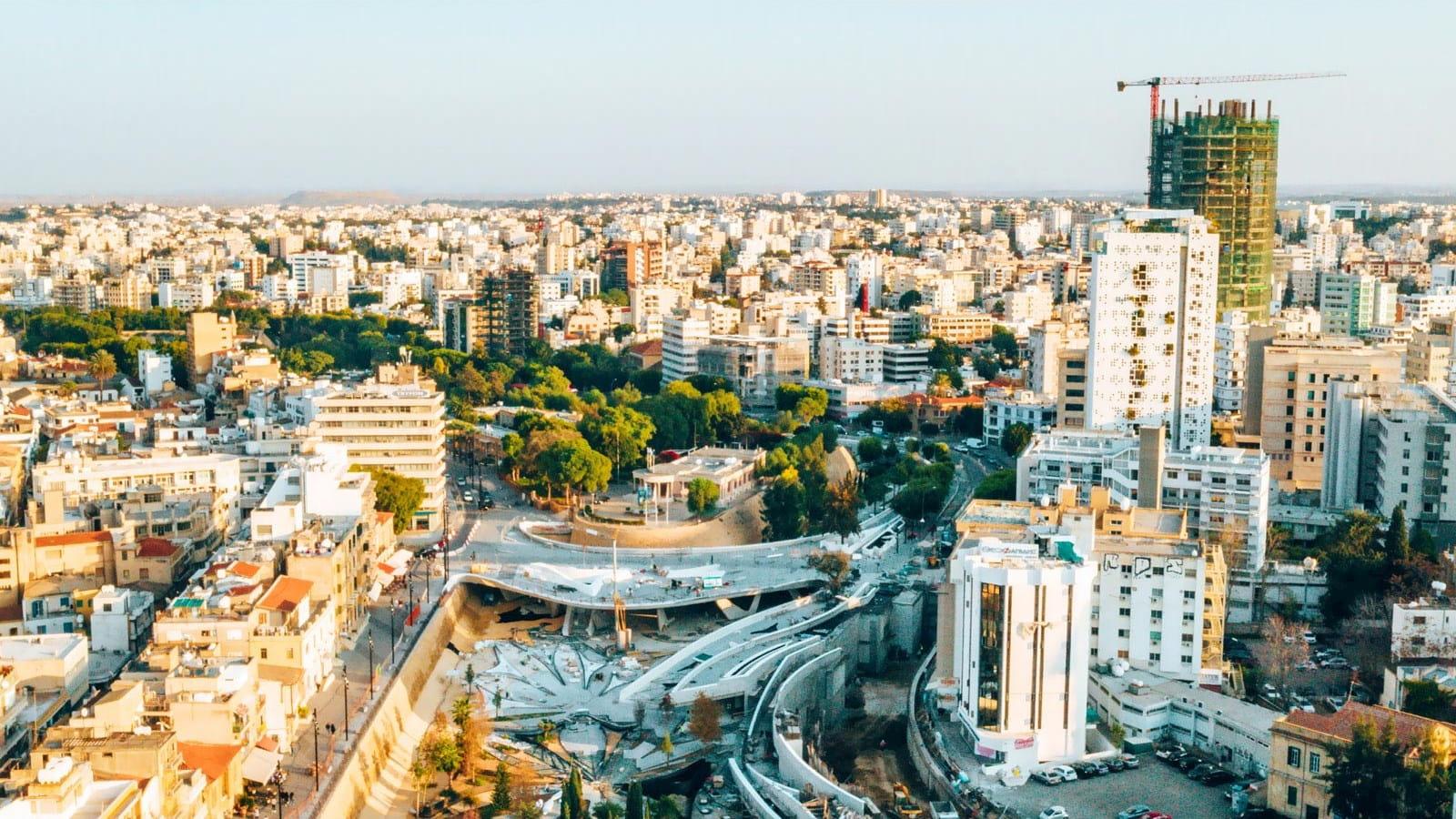 Cyprus skyline