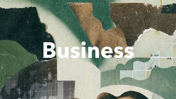 Graphic illustrating business
