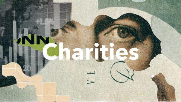 Graphic illustrating charity