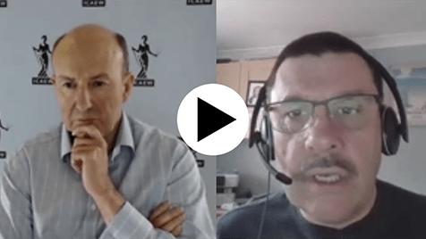 Michael Izza in conversation with Sr Jon Thompson