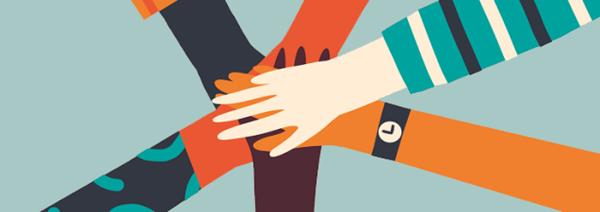 Hands meeting