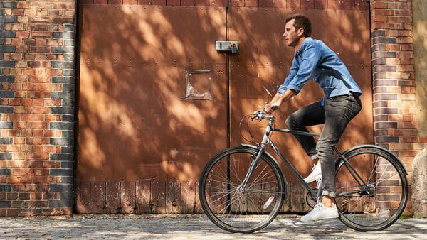 A London cyclist