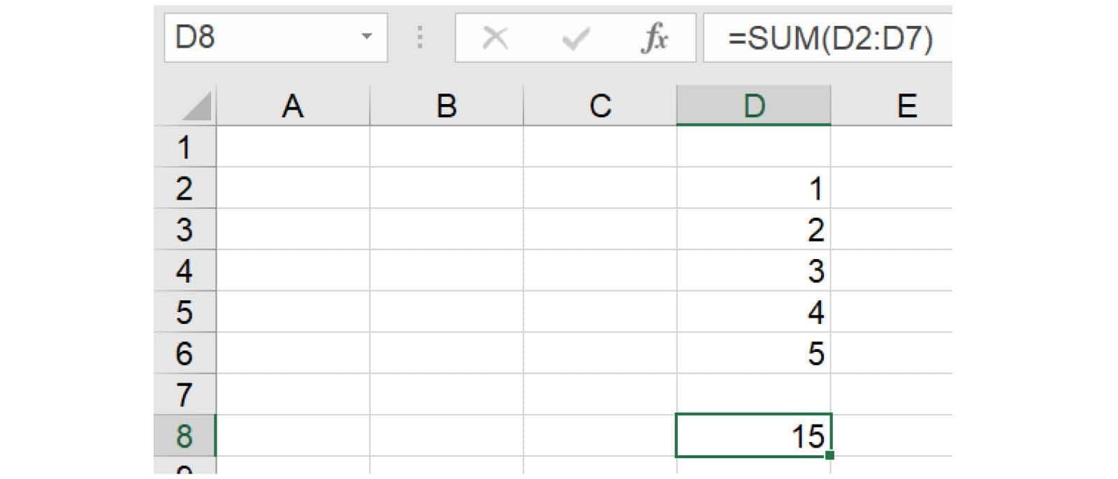 Excel inline 1