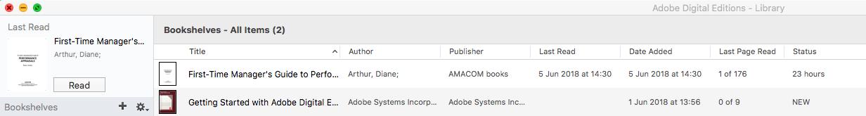Ebook Central Adobe Digital Editions