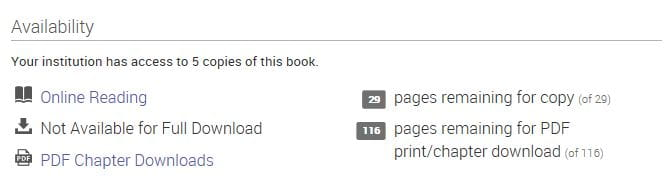 downloading Ebook Central pages