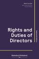 Rights and duties of directors 2018-19 book cover
