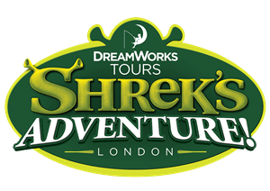 Shrek's London Adventure logo