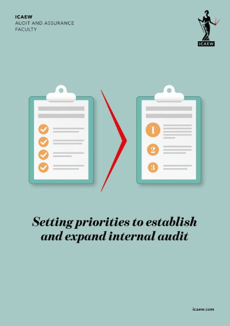Setting priorities to establish and expand internal audit
