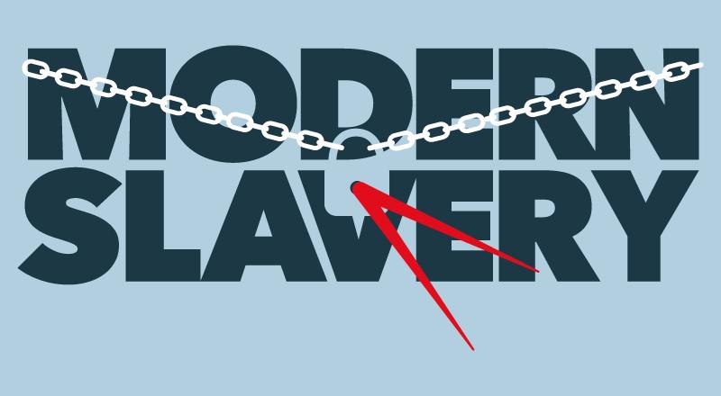 Modern slavery campaign logo