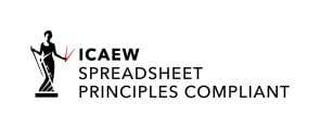 Spreadsheet principles compliant
