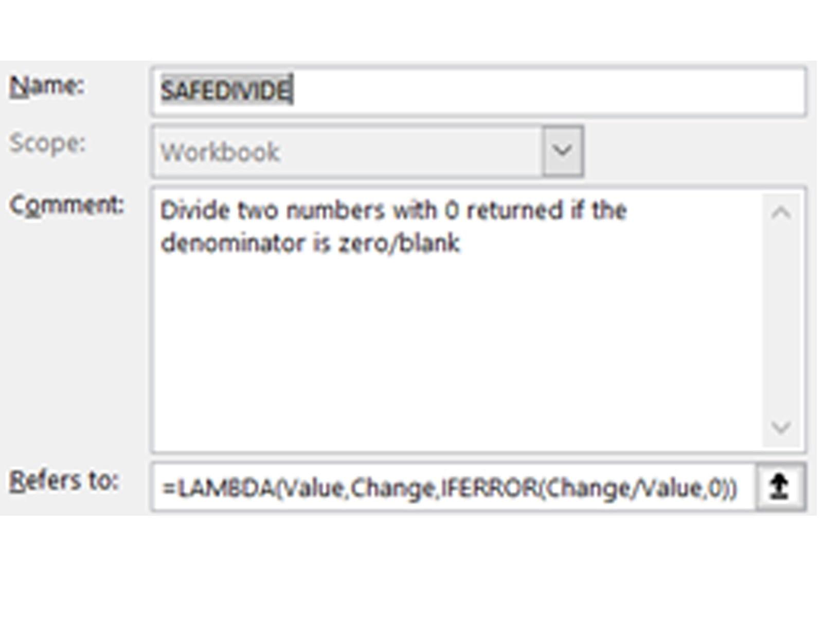 Exemple 1: LAMBDA