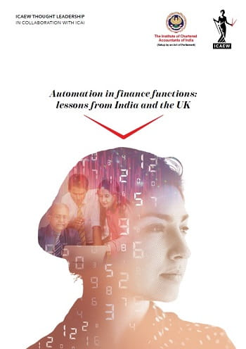 Thought Leadership Automation in finance functions