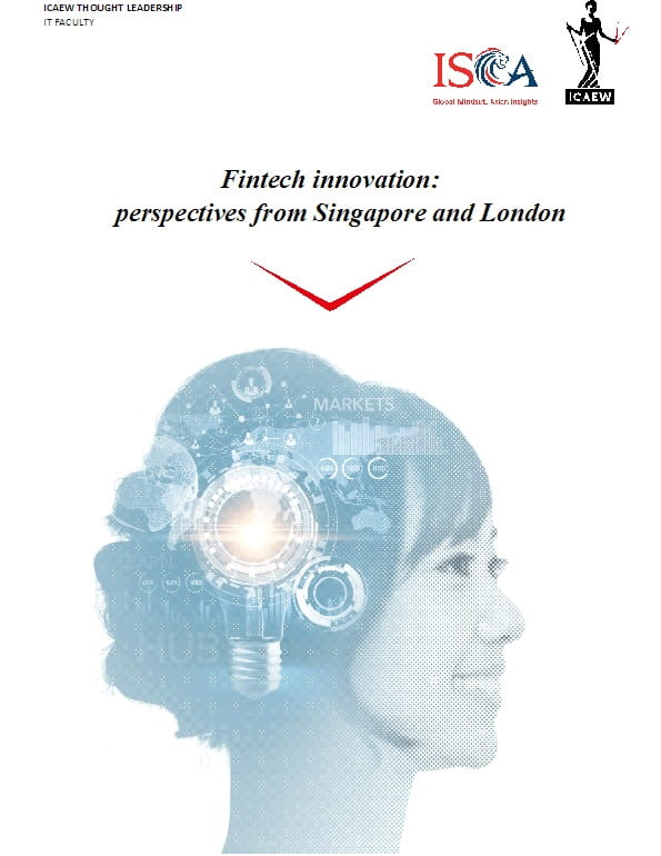 Fintech innovation: perspectives from Singapore and London