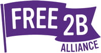 Free 2B logo