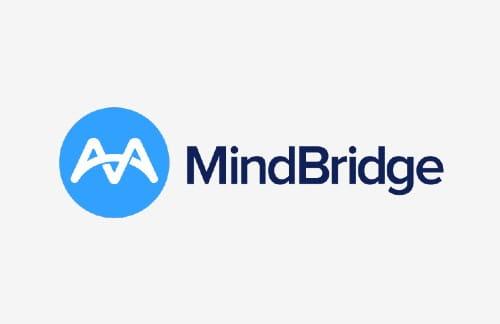 Logo of MindBridge an ICAEW commercial partner