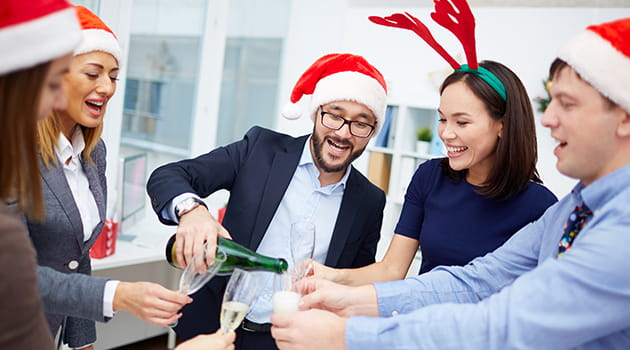 Office Christmas Party.How To Organise The Office Christmas Party Icaew Economia