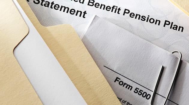 pension form 630
