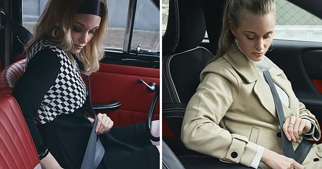 Volvo seatbelts