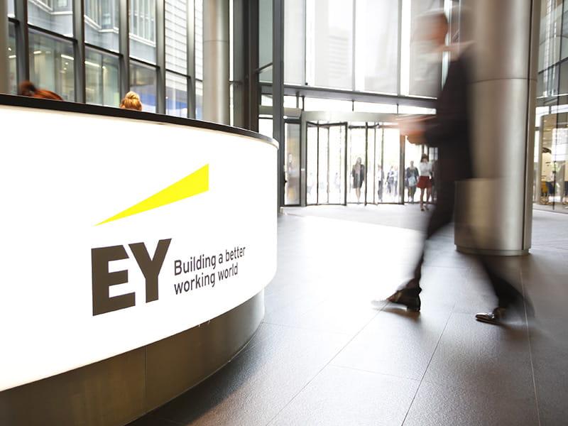BrandPie rebrands Ernst & Young as EY - Design Week