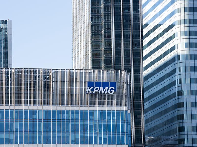 KPMG building Canary Wharf