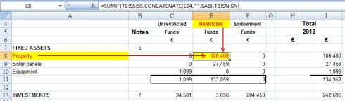 "Using Excel to ""map"" a trial balance to a set of accounts – part 2"